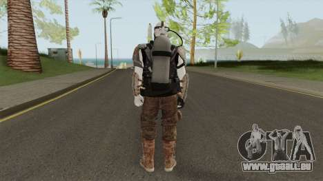 Zombie Skin With Arena War Outfit pour GTA San Andreas
