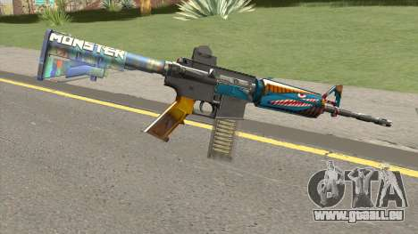 M4 (Monster Skin) pour GTA San Andreas