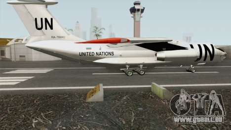 Ilyushin Il-76TD United Nations pour GTA San Andreas