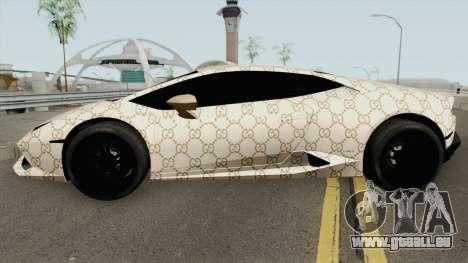 Lamborghini Huracan 2014 (Gucci Style) pour GTA San Andreas