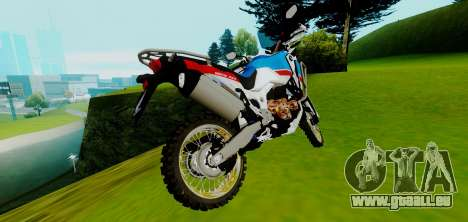 Honda CRF 1000L2 Africa Twin 2018 pour GTA San Andreas