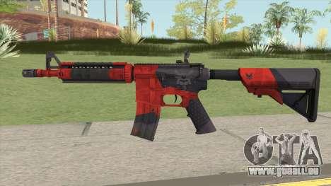 CS-GO M4A4 Evil Daimyo pour GTA San Andreas