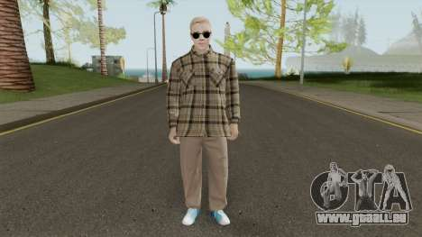 Justin Bieber Casual Outfit pour GTA San Andreas