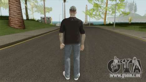 David Beckham Skin pour GTA San Andreas