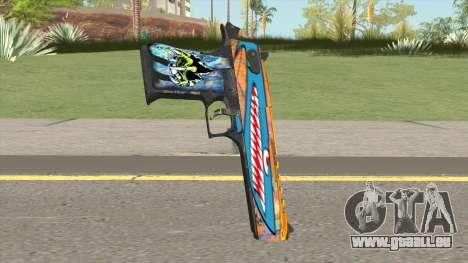 Desert Eagle (Monster Skin) pour GTA San Andreas