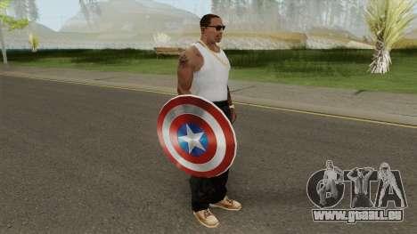 Captain America Shield pour GTA San Andreas
