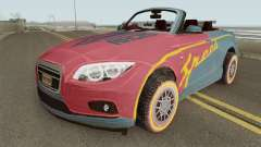 ROS Rosy Comet Car