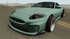 Jaguar XKR-S Stance pour GTA San Andreas