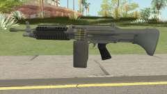 Combat MG (Extended Mag) GTA V pour GTA San Andreas