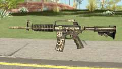 CS:GO M4A1 (Flashback Skin) pour GTA San Andreas