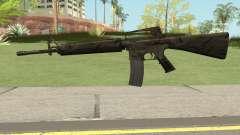 M16A2 Full Jungle Camo (Ext Mag) pour GTA San Andreas
