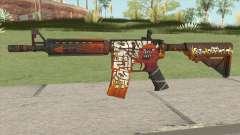 CS-GO M4A4 Hellfire für GTA San Andreas