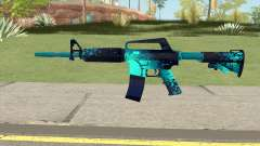 CS:GO M4A1 (Icarus Skin) pour GTA San Andreas