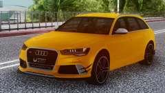 Audi RS6 Welow für GTA San Andreas