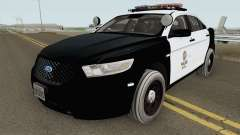 Ford Taurus Police Interceptor LAPD 2015 pour GTA San Andreas