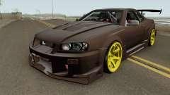 Nissan R34 Uras GT pour GTA San Andreas