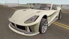 Grotti Itali GTO GTA V High Quality pour GTA San Andreas