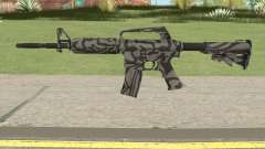 CS:GO M4A1 (Zebra Dark Skin) pour GTA San Andreas