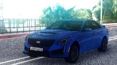 Cadillac CTS-V Blue pour GTA San Andreas