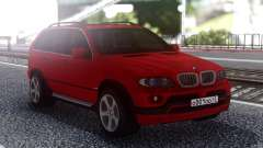 BMW X5 Red pour GTA San Andreas