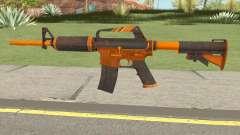 CS:GO M4A1 (Alloy Orange Skin) für GTA San Andreas