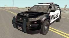 Vapid Police Cruiser Utility GTA V