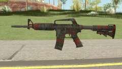CS:GO M4A1 (Redtiger Skin) pour GTA San Andreas