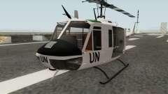 Bell UH-1 Huey United Nations für GTA San Andreas