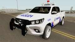 Toyota Hilux Policia de Santiago del Estero pour GTA San Andreas