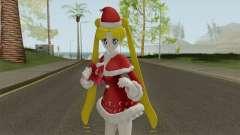 Usagi Tsukino in Christmas Clothes pour GTA San Andreas