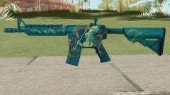 CS-GO M4A4 Poseidon für GTA San Andreas