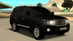 Toyota Land Cruiser 200 2013 Black für GTA San Andreas