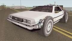 Delorean DMC-12 Time Machine BTTF 2 für GTA San Andreas