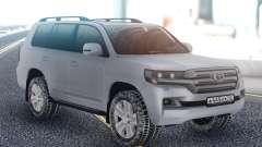 Toyota Land Cruiser 200 Winter Edition pour GTA San Andreas