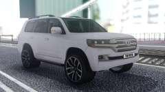 Toyota Land Cruiser 200 Offroad White pour GTA San Andreas