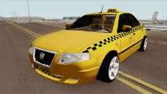 IKCO Samand Soren Taxi pour GTA San Andreas