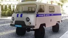 UAZ Buhanka - Duty-Teil für GTA San Andreas