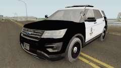 Ford Explorer Police Interceptor LAPD 2017 pour GTA San Andreas