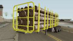 Trailer B-Doble Timber
