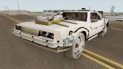 DeLorean DMC-12 Time Machine Cave für GTA San Andreas