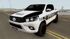 Toyota Hilux Georgia Police HQ pour GTA San Andreas