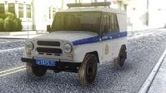 UAZ 3151 de la Police