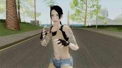 Rock Girl Skin pour GTA San Andreas