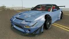 Nissan 180SX Rocket Bunny 1996 für GTA San Andreas