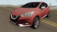 Nissan Micra 2019 pour GTA San Andreas