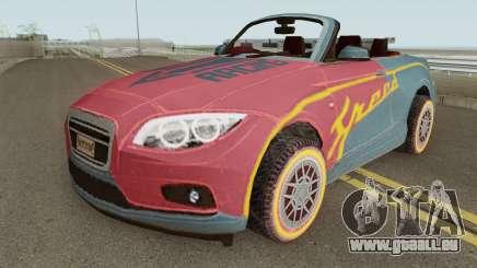 ROS Rosy Comet Car pour GTA San Andreas