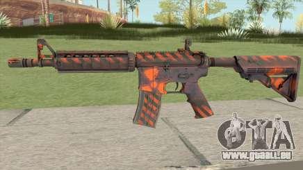 CS-GO M4A4 Radiation Hazard pour GTA San Andreas