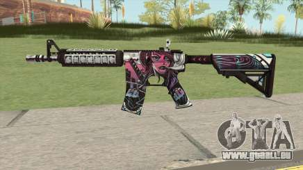 CS-GO M4A4 Neo-noir pour GTA San Andreas