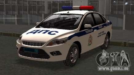 Ford Focus ОБ ГИБДД Winter Edition für GTA San Andreas