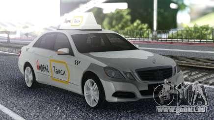 Mercedes-Benz E-Klasse Ein Yandex-Taxi für GTA San Andreas